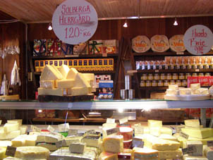 Malmö Cheese Shop on Pedestrian Area