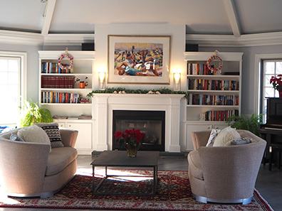Southampton Inn - Library - photo by Luxury Experience