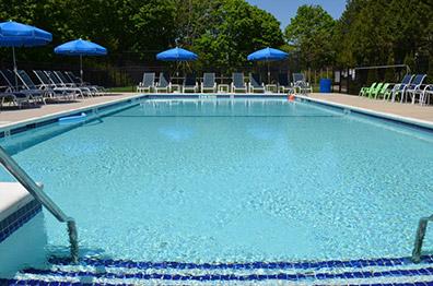 Southampton Inn pool - Southampton, NYC