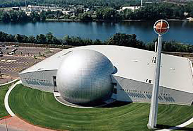 Basketball Hall of Fame - Springfield, MA