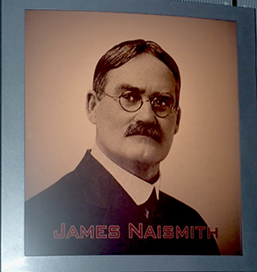 Dr. James Naismith - Basketball Hall of Fame - photo by Luxury Experience
