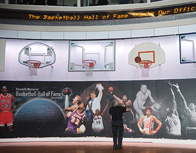 Edward F. Nesta -  Basketball Hall of Fame - photo by Luxury Experience