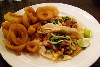 Rocker at Squaw - Fish Tacos - Photo by Luxury Experience