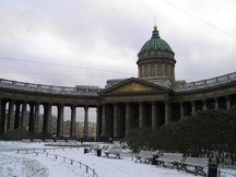 Saint Petersburg, Russia - Our Lady of Kazan Cathedral