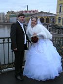 Saint Petersburg, Russia - Wedding Couple