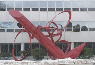 Sculpture in Stamford, Connecticut  - Photo by Luxury Experience