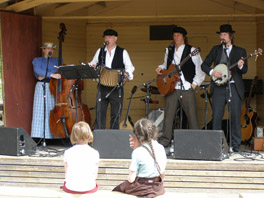 Folk Music at Skansen, Stockholm, Sweden