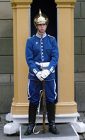 Royal Palace Guard, Stockholm, Sweden