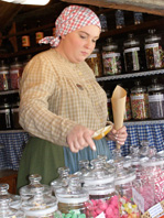Candy Shop at Skansen, Stockholm, Sweden