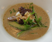 Soup of Morels - The Restaurant Mathias Dahlgren - Stockholm, Sweden
