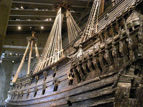 Vasa Ship at Vasa Musuem, Stockholm, Sweden