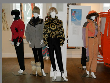 Ski Fashion -Vermont Ski and Snowboard Museum, Stowe, VT, USA -photo by Luxury Experience