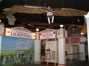 Lilienthaler Hang Glider - National Air and Space Museum, Washington, DC, USA