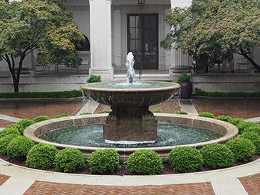 Freer Gallery of Art Courtyard - photo by Luxury Experience