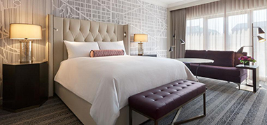 Gold Guest Room - Fairmont Washington, D. C., Georgetown, USA