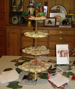 Holiday Cookies at The Notchland Inn, New Hampshire - photo by Luxury Experience