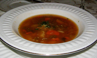 Pasta Fagioli, The Notchland Inn, New Hampshire - photo by Luxury Experience