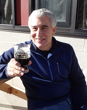 Edward F Nesta at Black Hog Brewing, Oxford, CT, USA - photo by Luxury Experience
