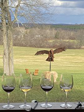 Hawk Ridge Winery  - Woodbury, CT - photo by Luxury Experience