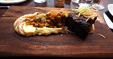 New York Strip Steak - 1754 House, Woodbury CT USA - photo by Luxury Experience