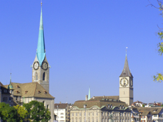 Zurich, Switzerland - Fraumuenster