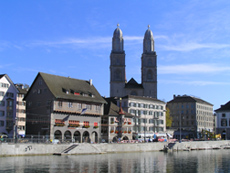 Zurich, Switzerland, Grossmunster