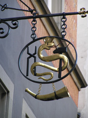Guild Sign - Zurich, Switzerland