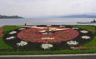 Zurich Park - Flower Clock
