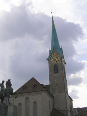 Fraumuenster, Zurich, Switzerland