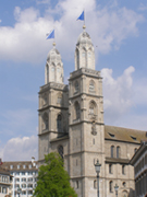 Grossmuenster, Zurich, Switzerland