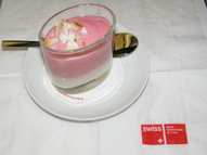 SWISS Business - Rasberry Mousse