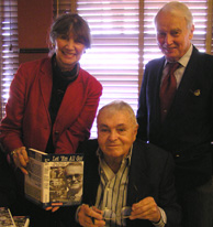 Madison Avenue Sports Car Driving and Chowder Society - Genia and Bruce Wennerstrom, and Chris Economaki