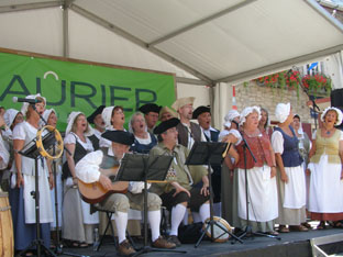 Choral Group Entertains at Nouvelle-France Festival, Quebec, Canada - Photo by Luxury Experience