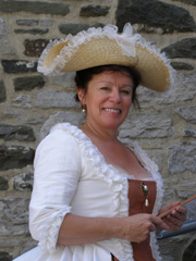 Marie Therse Verville  - Nouvelle-France Festival, Quebec, Canada - Photo by Luxury Experience