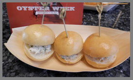 Crabmeat Sliders - Osyter Social - Aureole New York - photo by Luxury Experience