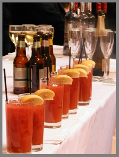 Bloody Mary, Beer, and Wine - Osyter Social - Aureole New York - photo by Luxury Experience