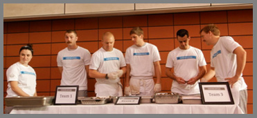 Osyter Shucking Teams - Osyter Social - Aureole New York - photo by Luxury Experience