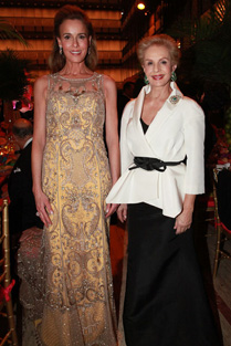 Julia Koch and Carolina Herrera - photo by Erin Baiano