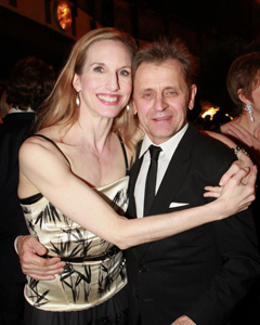 Wendy Whelan and Mikhail Baryshnikov at SAB 2013 Winter Gala - Photo by Erin Baiano