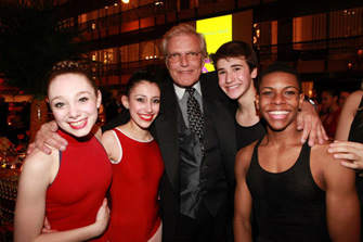 Peter Martins, SABs Artistic Director and Chairman of Faculty and SAB Students - photo by Erin Baiano