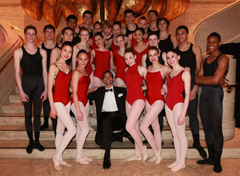 School of American Ballet Students - Photo by Erin Baiano