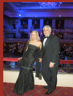 Debra C. Argen and Edward F. Nesta - photo by Luxury Experience