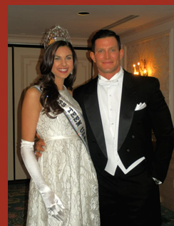 Teen USA - Katherine Haik and Steve Weatherford - VienneseOpera Ball - photo by Luxury Experience