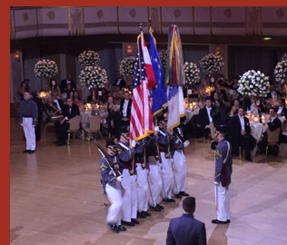 West Point Cadets - VienneseOpera Ball - photo by Luxury Experience