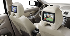 Volvo Rearseat entertainment system