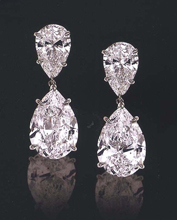 Jewels of Ocean - Diamond Earrings