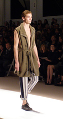 Yigal Azrouel Spring 2010 Design - Handknit Belted Jacket