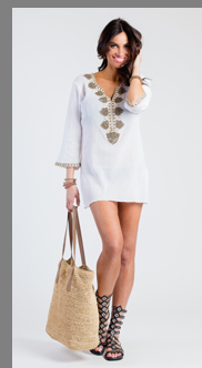 Charlotte White Tunic - Sulu Collection