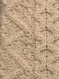 Zip Zag and Cabling Stitches