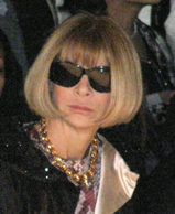 Anna Wintour at Mercedes-Benz Fashion Week New York February 2009